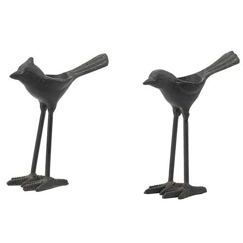 S/2 Bird Tealight Holder