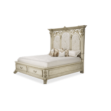 Eastern King Bed w/Drawers (4 pcs)
