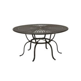 "Spectrum 66"" Round KD Counter Umbrella Table"