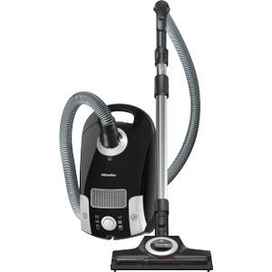 Miele  SCAE0 37/USA/CompactC1/Turbo Team/P/OBSW - canister vacuum cleaners with turbo brush for hard floor and low, medium-pile carpeting.