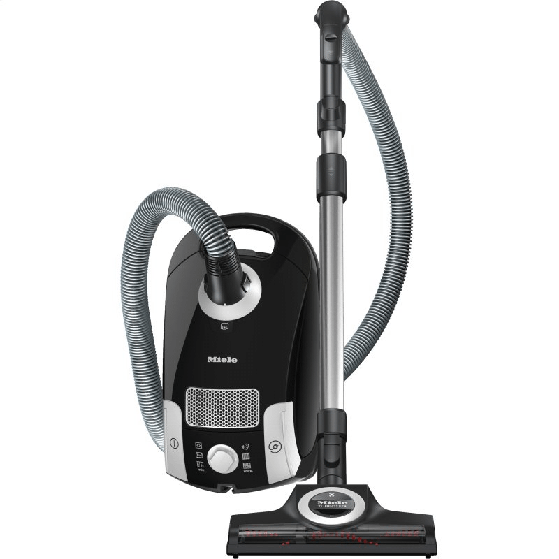 Compact C1 Turbo Team PowerLine - SCAE0 - canister vacuum cleaners with turbo brush for hard floor and low, medium-pile carpeting.