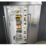 Kitchenaid 48-Inch width built-in side by side refrigerator with printscield™ finish - Other