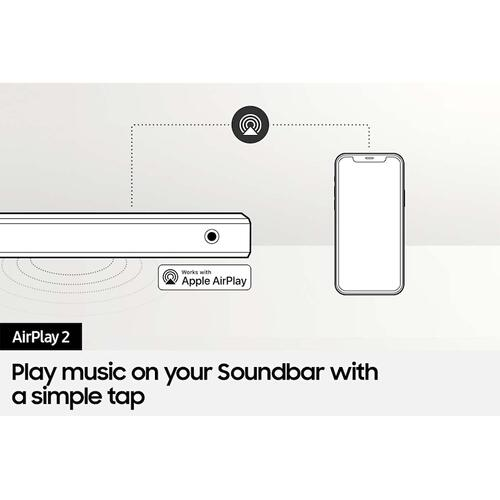 Product Image - HW-S60A 5.0ch All-in-One Soundbar w/ Acoustic Beam and Alexa Built-in (2021)