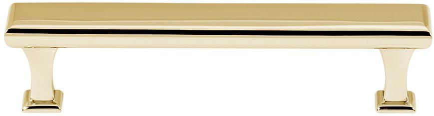 Manhattan Pull A310-4 - Polished Brass
