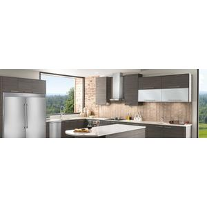 RED HOT BUY! 36'' Glass and Stainless Canopy Wall-Mount Hood