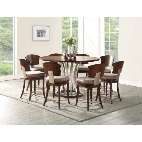 "Emerald Home Oxford Hills 60"" Round Gathering Table Top-d431-16top"