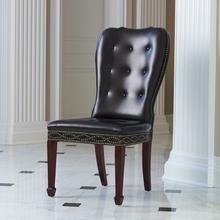 Charleston Chair-Java with Walnut Finish Legs