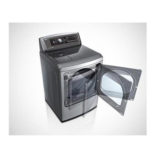 LG - 7.3 cu.ft. Ultra Large SteamDryer™ with EasyLoad™ Door
