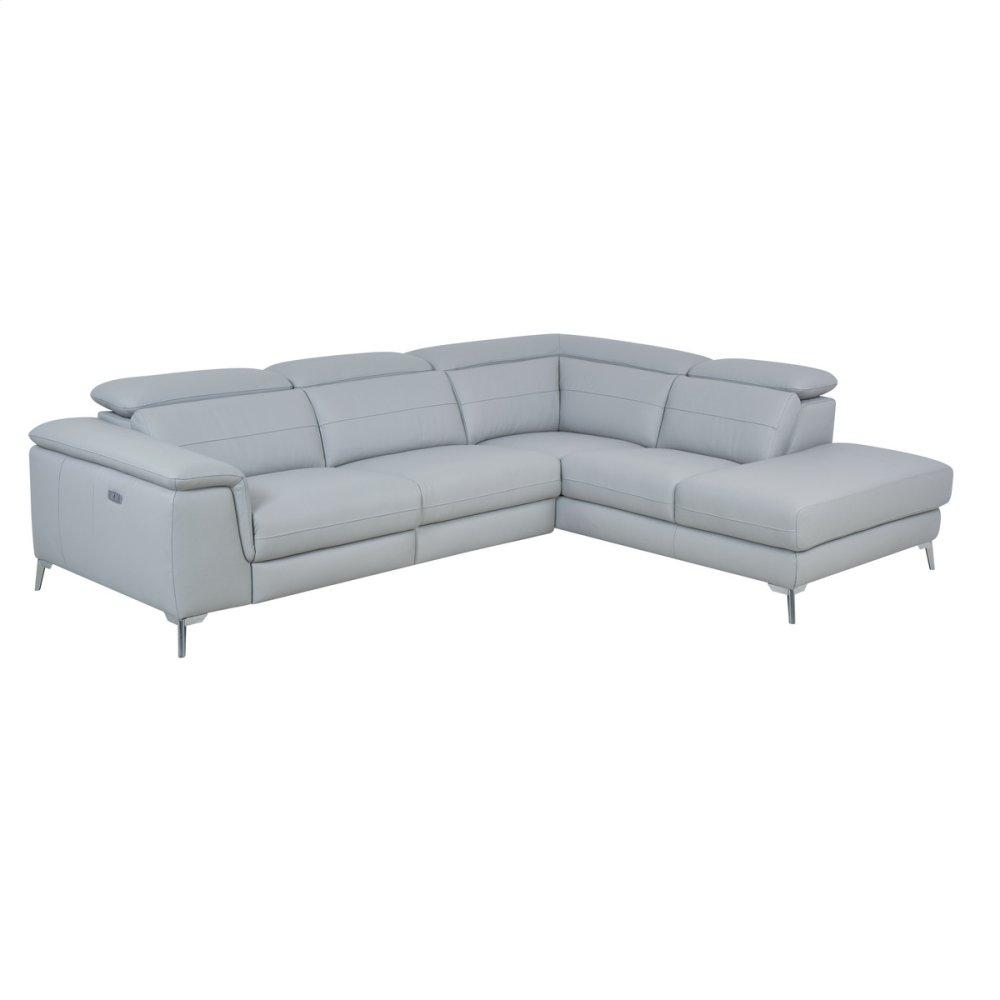 2-Piece Sectional with Right Chaise
