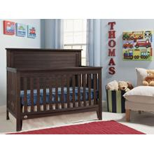 Fisher-Price Quinn Convertible Crib, Weathered Brown