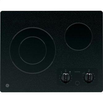 "GE 21"" Electric Smoothtop Cooktop Black JP256BMBB"