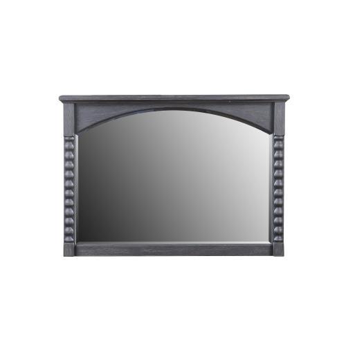 Emerald Home Wallingford Mirror Dark Walnut, Antique Black D750-25