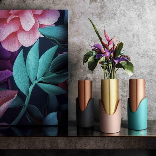 Tov Furniture - Grey Concrete Vase