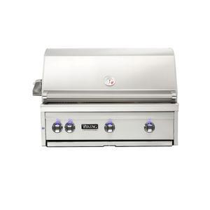 "Viking36""W. Built-in Grill with ProSear Burner and Rotisserie - VQGI5361"