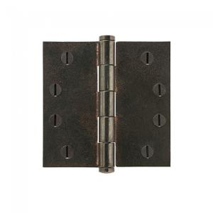 "Plain Bearing Extruded Hinge - 4"" x 4"" Silicon Bronze Brushed Product Image"