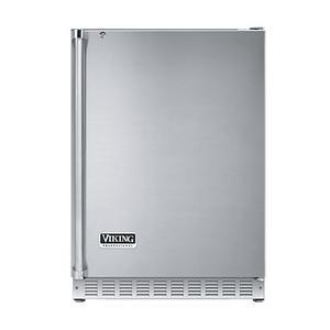"""Viking - Stainless Steel 24"""" Solid Door Wine Cellar - VUWC (Right Hinge Solid Door)"""