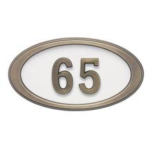 View Product - Small Oval HouseMark ® Address Plaques