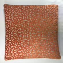 ROUNDABOUT ORANGE VELVET 22 INCH