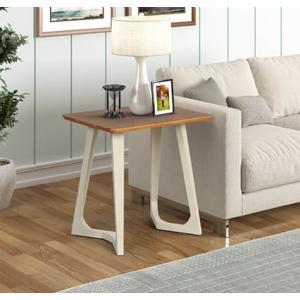 Tennessee Enterprises - Double V-leg Rectangular End Table