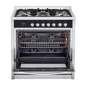 3.8 Cu. Ft Dual Fuel Freestanding Range