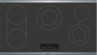 800 Series Electric Cooktop 36'' Black, surface mount without frame NET8668SUC
