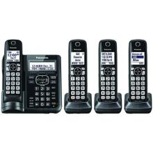 See Details - Expandable Cordless Phone with Call Block & Answering Machine (4 Handsets)