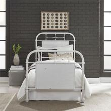 View Product - Full Metal Bed - Antique White