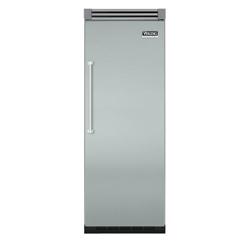 "Viking - Sea Glass 30"" Quiet Cool™ All Refrigerator - VIRB Tru-Flush™ (Right Hinge Door)"