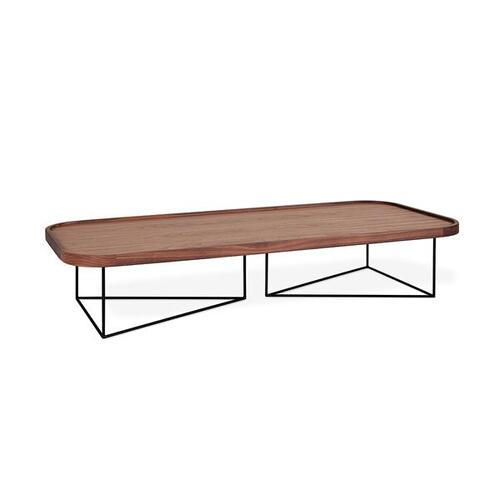 Product Image - Porter Coffee Table - Rectangle New Walnut / Black