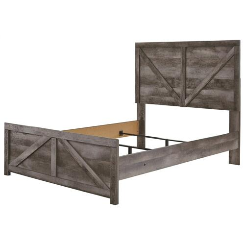 Wynnlow Full Crossbuck Panel Bed