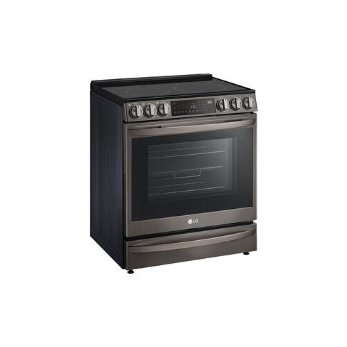 6.3 cu ft. Smart Wi-Fi Enabled ProBake Convection® InstaView™ Electric Slide-in Range with Air Fry