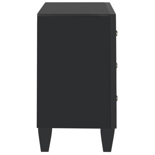 Safavieh - Marlon 3 Drawer Chest - Black