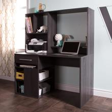 Annexe - Home Office Computer Desk, Gray Oak