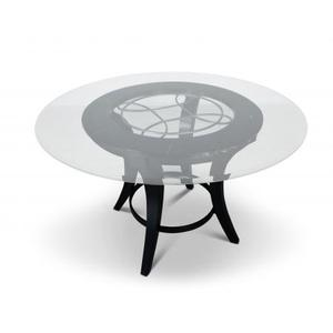 Cayman 48 inch Round Glass Table