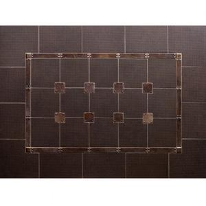 Trax - Backsplash Silicon Bronze Brushed Product Image