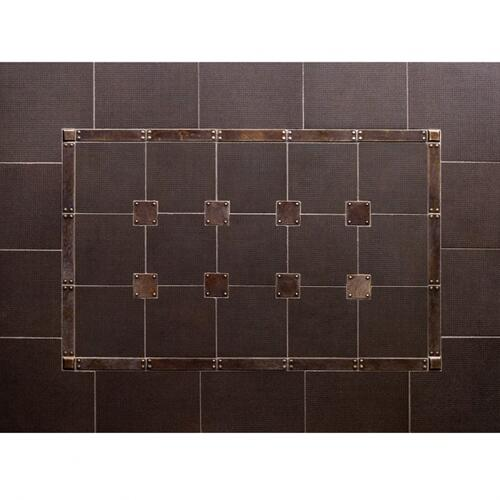 Trax - Backsplash Silicon Bronze Rust