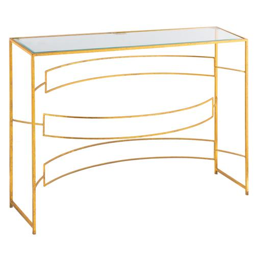 Crestview Collections - Melrose Narrow Metal Console Table