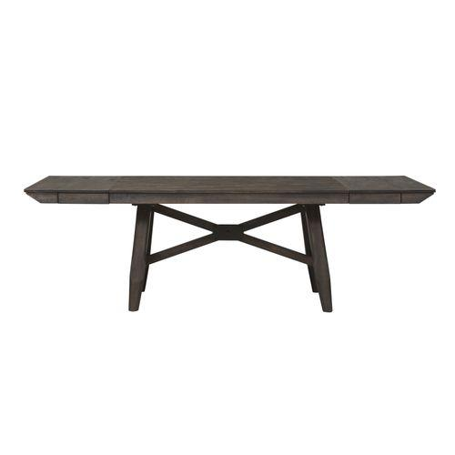 Optional 6 Piece Trestle Table Set