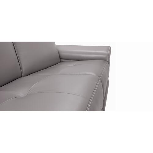 London Apartment sofa (169-170; Wood legs - Charcoal 74)