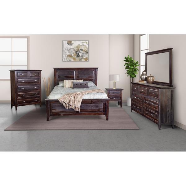 See Details - Sonora Midnight Bedroom Set, ART-772-MNT