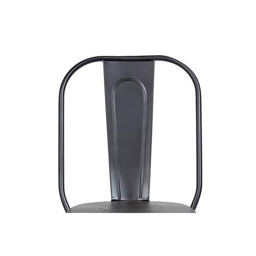 Porter International Designs - Cafe Gunmetal Chair, 6108