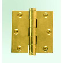 Solid Brass- Extruded Hinge-Square Corner