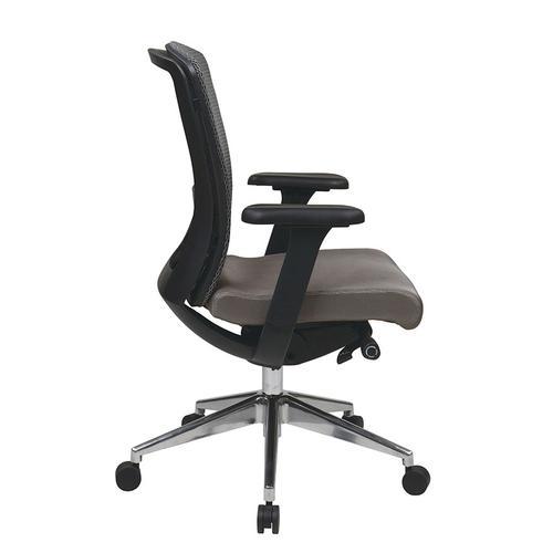 Grey Progrid® High Back Chair