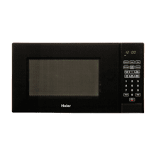 Haier 0.9-Cu.-Ft. 900-Watt Microwave - black