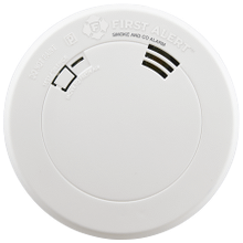 Combination Photoelectric Smoke and Carbon Monoxide Alarm with 10-Year Battery, Voice and Location