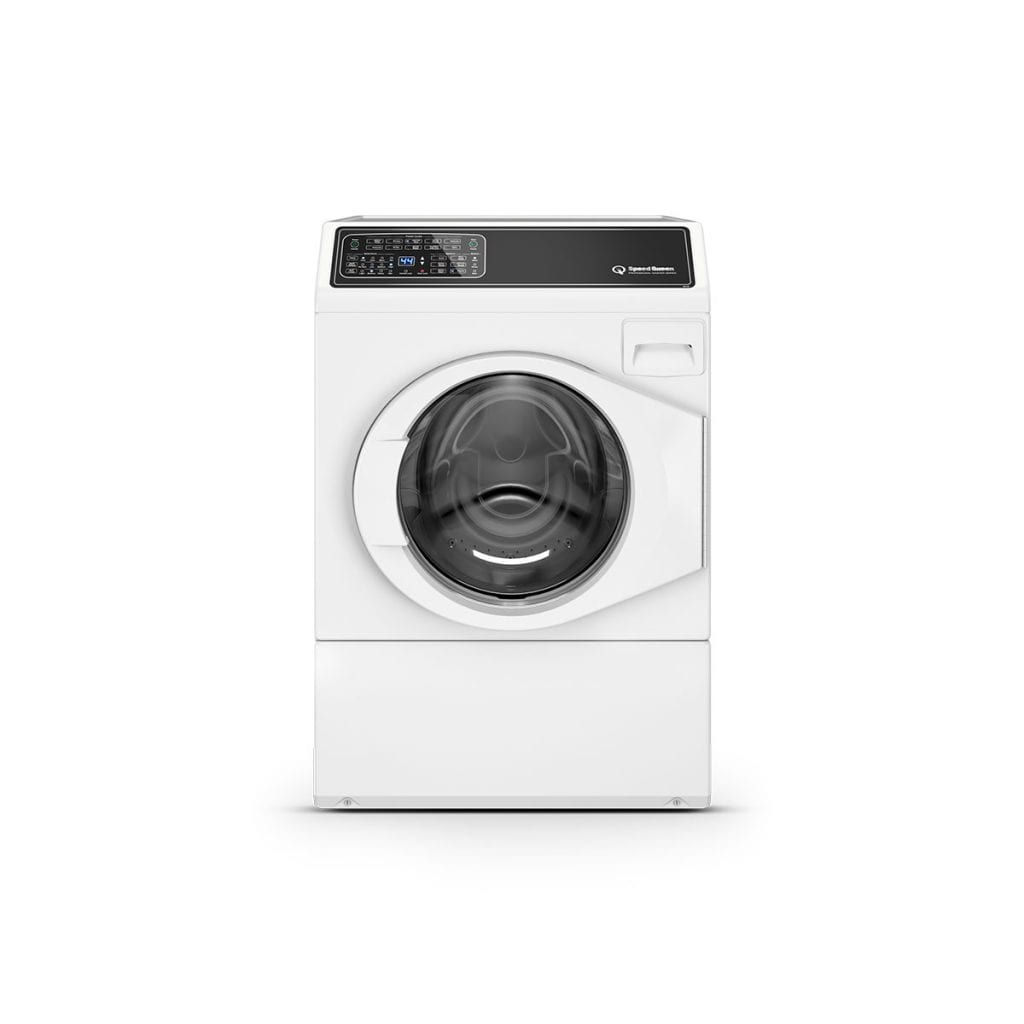 FF7 White Right-Hinged Front Load Washer with Sanitize  5-Year Warranty
