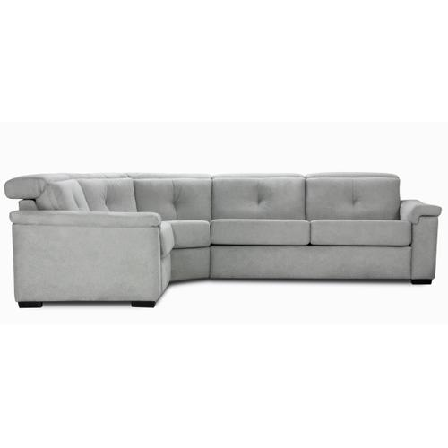 Sacha Sectional (175-050-097; Wood legs - Black B6)