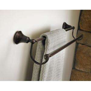 "Wynford oil rubbed bronze 24"" double towel bar"