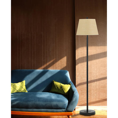 150W 3Way Andros Metal Floor Lamp
