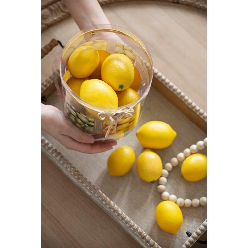 Faux Lemons-10 pieces